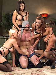 4 gorgeous prostitutes seize the local jail and capture the new rookie cop. Hot, intense 4 on...