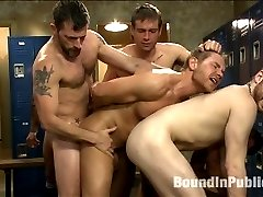 Alex Adams was gangbanged and publicly humiliated at the boxing gym but the guys arent through...