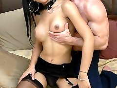 Hot ladyboy loves getting fucked and jizzed on