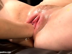 Sadie Kennedy is new to porn, new to lesbian BDSM and new to sex! Shes only 18 years old and...
