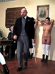 Brutal caning for 4 school girls - hot tears of pain