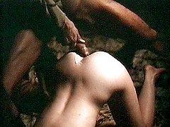 Arabian guys pounding girl