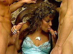 Al Brown, Sheri St. Clair, Billy Joe Fields in vintage sex clip