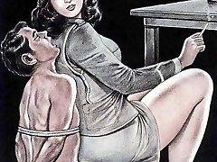femdom anime porn forced to munch own cum