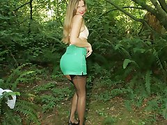 A babe in the woods