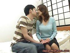 Mina Toujou sexy mother enjoys part4