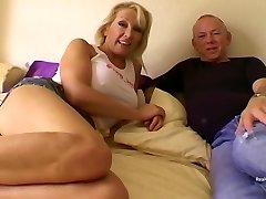Mature British Blonde With Big, Firm Tits And Perky Nips Is About To Rail A Stiff Cock