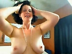Me Busty housewife Shanon teasing on cam