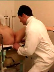 Fat ho pleasures gynecologist right in his office