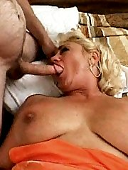 Naughty plump GILF getting fucked from behind