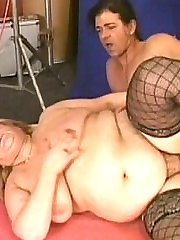 Big cock goes deep in her hairy pussy