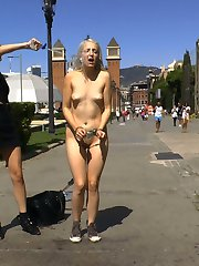 Liz Rainbow is back on Public Disgrace in Barcelona and ready to be completely humiliated in...