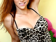 Asian Tranny Sapphire Young awakens the Beast in You