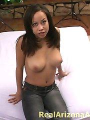 Pretty wild college girl having a nasty sex