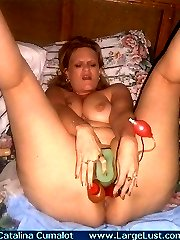 How many toys can this plumper fit in her pussy
