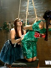 AVN award nominated stars Lyla Storm and Lea Lexis return to Whipped Ass for a kinky lesbian...