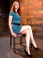 Kendra James is a sexy redhead with long legs and an insatiable desire for both pleasure and...