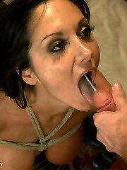 Wondrous  model Ava Addams has her spectacular debut at Orgy and Submission where she completely surrenders to strenuous sexual domination, deep anal invasion and bondage sex!
