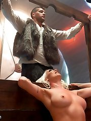 Part 5 of Barbarella lands Lorelei Lee on planet Sex and Submission where she submits to...