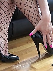 Your shoe fetish means that you are constantly looking at womens legs and their high heel shoes....
