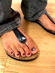 Sexy little Katreena is only too happy to go get new daily pedicures for her boyfriend, she just...