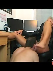 Foot & ass domination fetish with Kahti