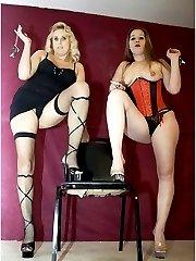 Two mistress strapon pics