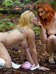 Submissive slut Darling follows Maitresse Madeline Marlowe into the isolated woods of Northern California for an electrosex initiation into 24/7 slavehood. Madeline's tools of motivation include the cattle prod, the taser, an electric strap-on, a wired butt plug, pussy licking, finger banging, spanking, flogging, and the power of seduction. An intense afternoon and multiple orgasms welcome Darling into the full time world of sexual servitude.