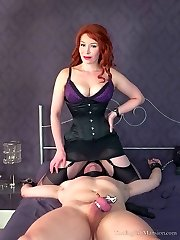 Chastity Release Tease