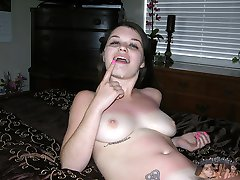 Amateur Teen Gives A Handjob And Receives A Blown Out Cumshot Across Her Freckled Face