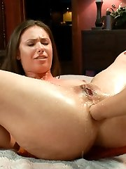 Two gorgeous girls, Casey Calvert and Ariel X, love intense anal play and go deep inside each...