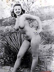 Nude ladies vintage Vintage Charming