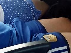 Str8 bulge in bus part 1