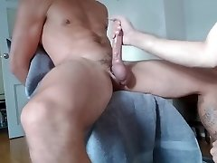 ATHLETIC Steamy Fellow WITH A PIERCED COCK IS GETTING EDGED