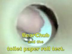 BearChub and the toilet paper flip test (work)