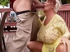 Cougar loves a big hard cock