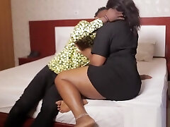 Jerry Rides His African Plus-size Cousin'_s Soft Fuckbox - NOLLYPORN