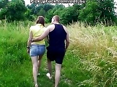 two girl sucks dick in the park