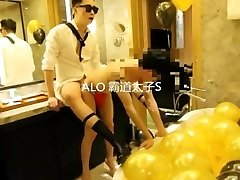 chinese twink hotel bondage hump part 2