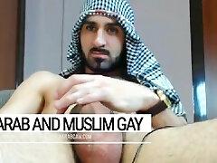 Arab fag bawdy desert warrior. Iraqi soldier at day, gay fucker at night