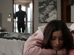 Lovable hottie Aria Lee is making love with her sensual boyfriend