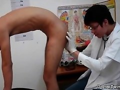 Doctor youngster naughty ass checkup