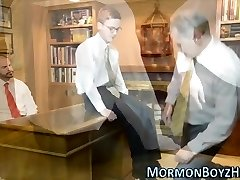 Elders shave mormons dick