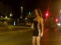 Nikki Transgirls is a street prostitute