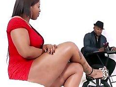 Giant black brazilian ass fucked up.