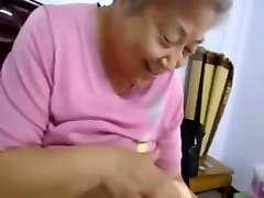 Asian Granny 80 Years Still Fucking