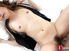 Japanese Mummy Getting Pussy Cum Filled