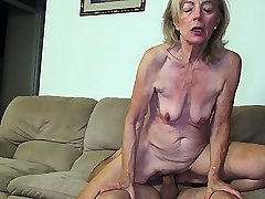 81 years older mom banged by stepson