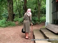 Granny gets roped and fucked