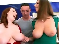 Big Natural Boobs - Redhead And Black-haired!!!!!!!